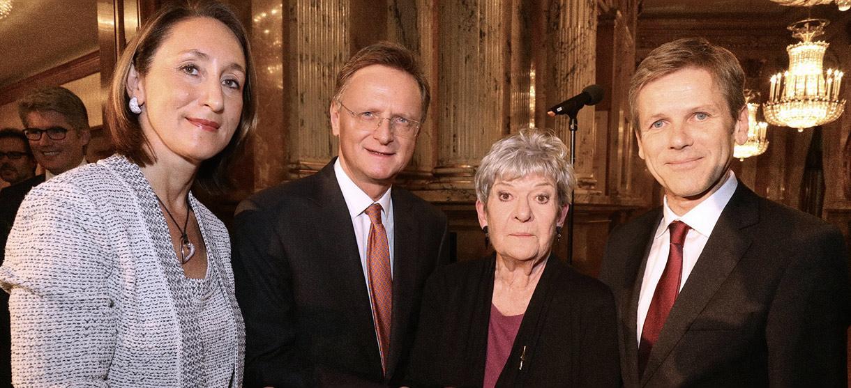 Ehrenmitgliedschaft für KS Elisabeth Orth
