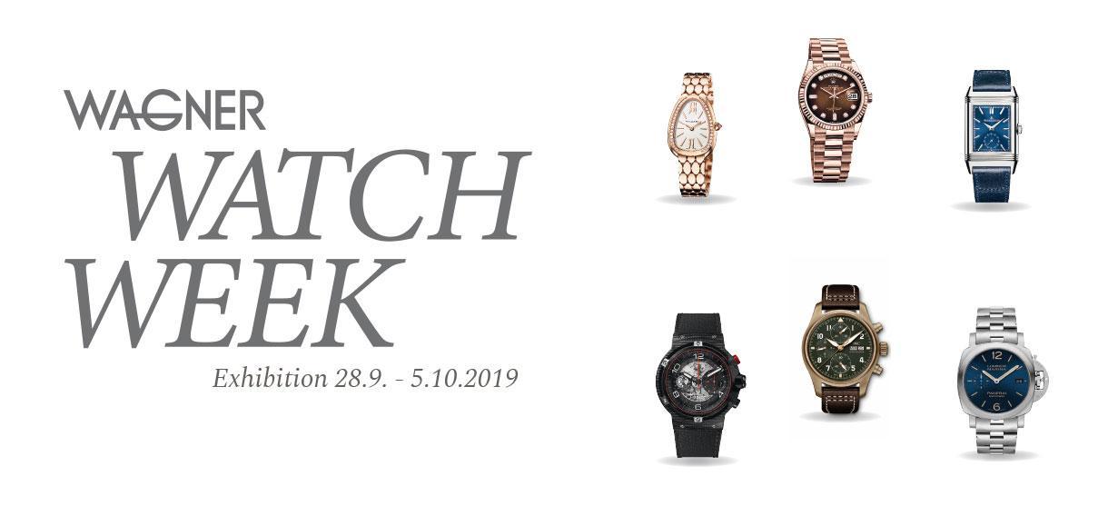 Wagner Watch Week Exhibition 2019