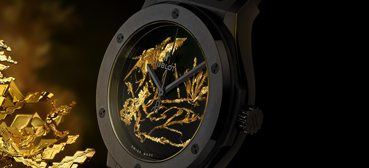 Hublot Gold Crystal Firmament Ceramic by Wagner
