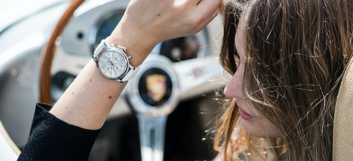Chopard Mille Miglia Classic Chronograph in Weiß