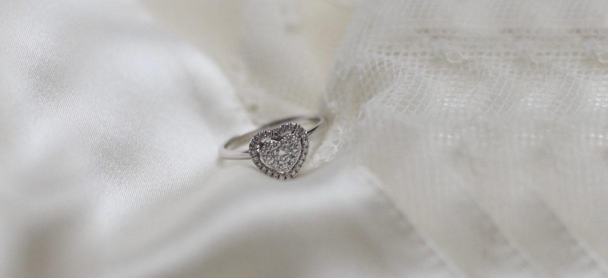 Wagner Jewellery Aura Heart Weißgold Diamanten