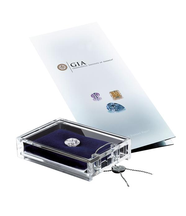 Wagner Diamant mit GIA Zertifikat