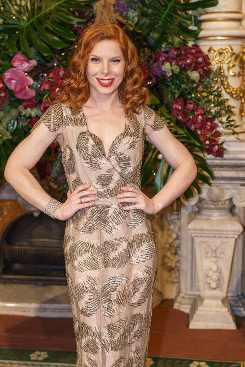 Teresa Vogl trägt Wagner Juwelen am Opernball 2020