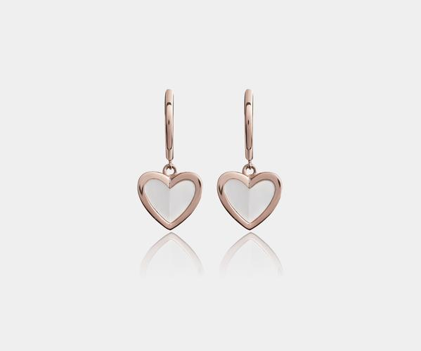 Wagner Heart Mother of Pearl_Perlmutt Rosegold