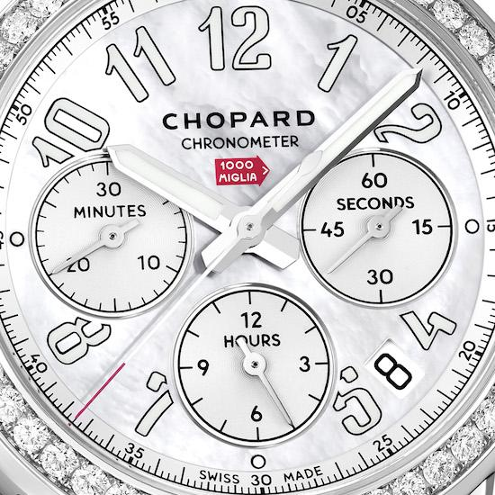 Chopard Mille Miglia Classic Chronograph in Weiss