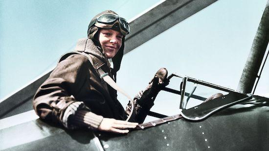 Pilotin Amelia Earhart