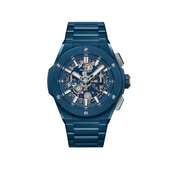 Wagner_Hublot Big Bang Integral Ceramic blau