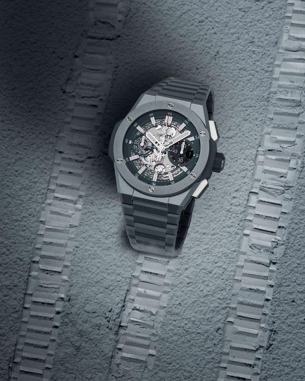 Wagner_Hublot Big Bang Integral Ceramic grau