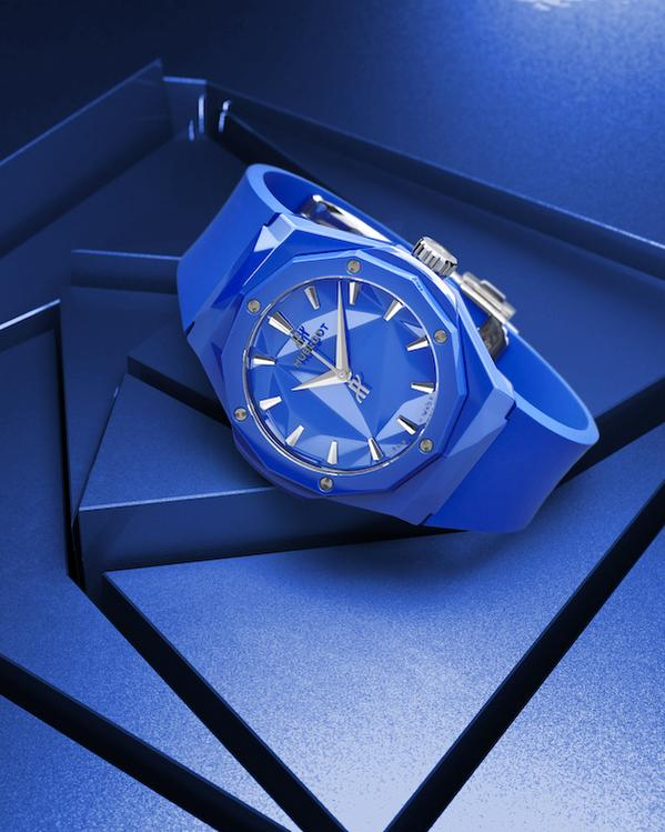 Wagner_Hublot Classic Fusion Orlinsky 40 mm Blue Ceramic