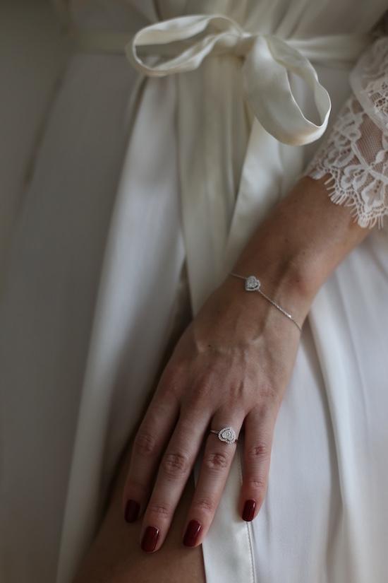 Wagner Aura Heart Weissgold Diamanten