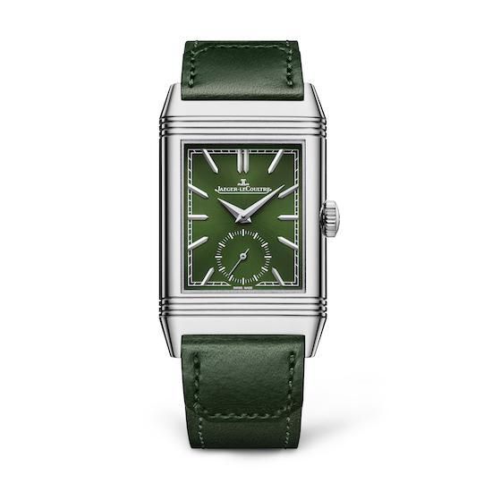 Wagner_Jaeger le Coultre Reverso Tribute Small in Grün