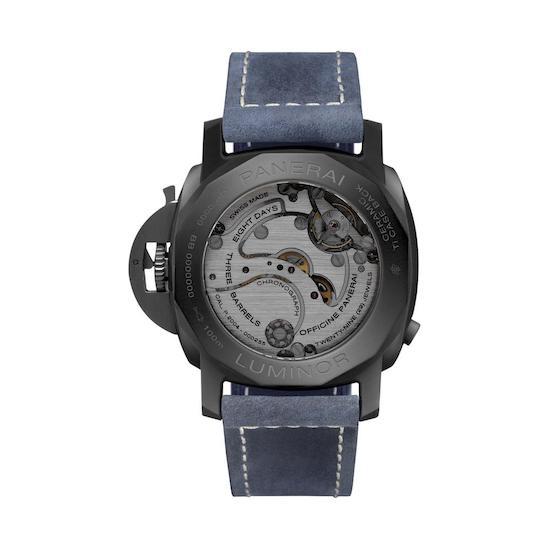 Wagner_Panerai Monopulsante GMT blu Notte