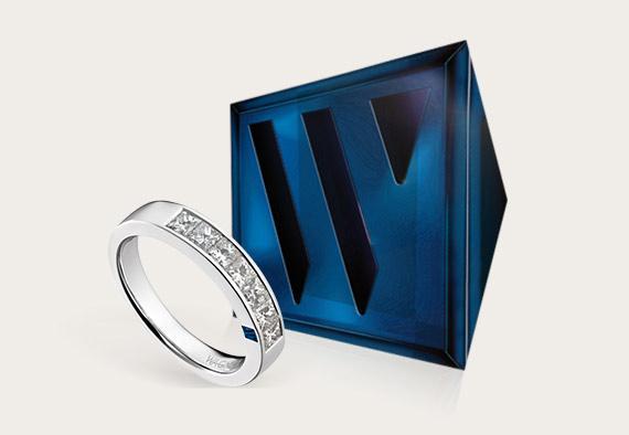 Der blaue Wagner Saphir