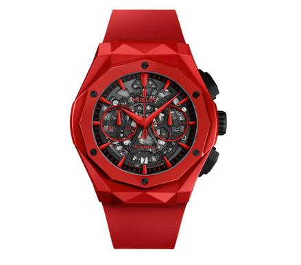 Hublot Classic Fusion Aerofusion Chronograph Orlinski Red Magic