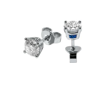 Wagner Solitaire No4 Earrings