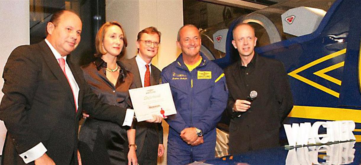 Aircraft naming ceremony