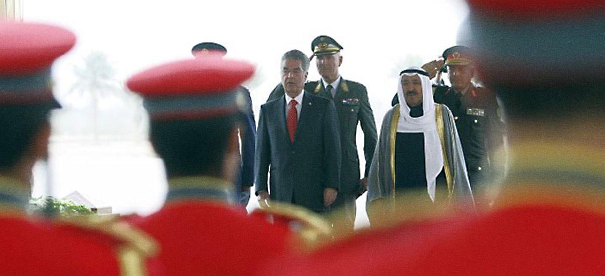 Staatsbesuch in Kuwait und Qatar