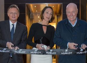 Feierliche Eröffnung der ersten Hublot Boutique in Österreich