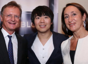Lang Lang celebrates in Vienna