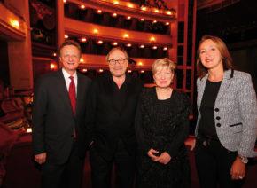 Klaus Maria Brandauer spielt ‹Das letzte Band›