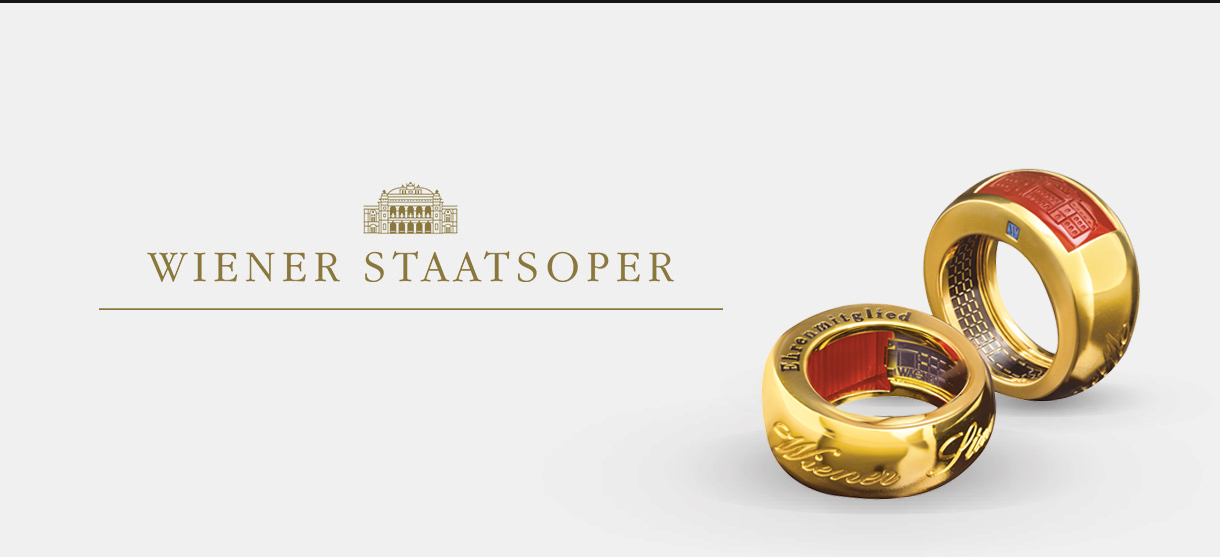 Ehrenring der Wiener Staatsoper by Juwelier Wagner