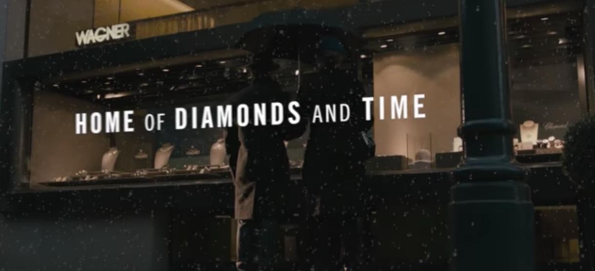 2012年推出WAGNER公司影片?《钻石与时间的家》