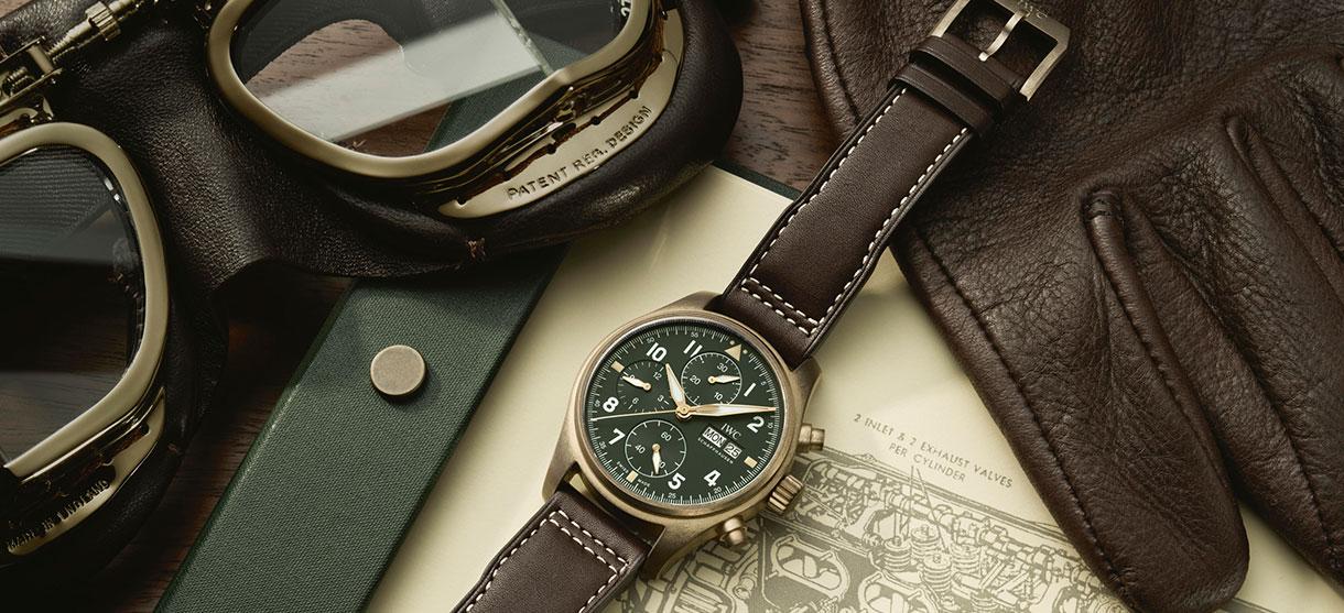 Wagner_IWC Pilot Watch Spitfire Chronograph