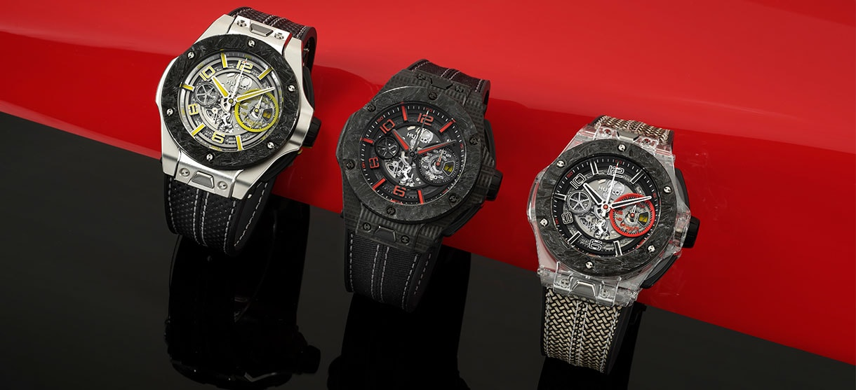 Hublot celebrates the 90th anniversary of Scuderia Ferrari