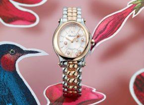 Chopard Happy Sport Oval  - Neuinterpretation des ersten Armbands der Uhren-Ikone