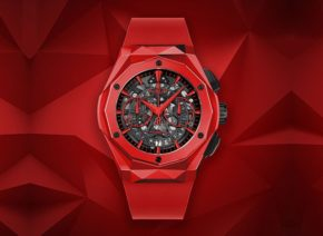 Hublot Classic Fusion Aerofusion Chronograph Orlisnki Red Magic